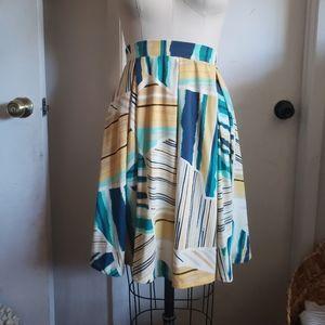 Lularoe Madison pleated Midi skirt